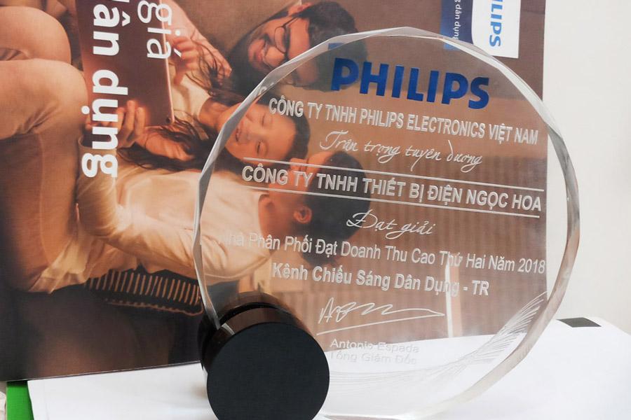 Nha phan phoi den Philips tai mien bac