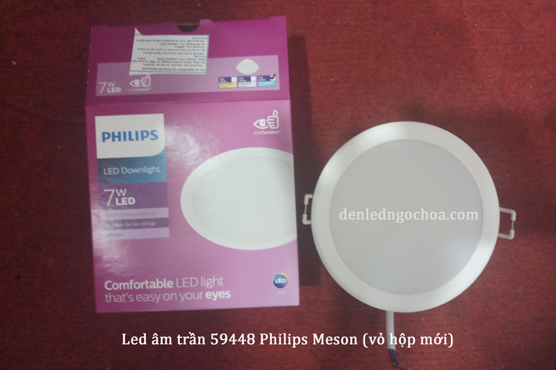 Den Led Am Tran 7w Meson 59448 Philips