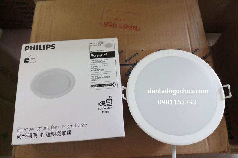 Den Led Am Tran Philips 13w D125 Ma 59464