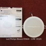Den Led Am Tran Philips Meson 13w Phi125 59464