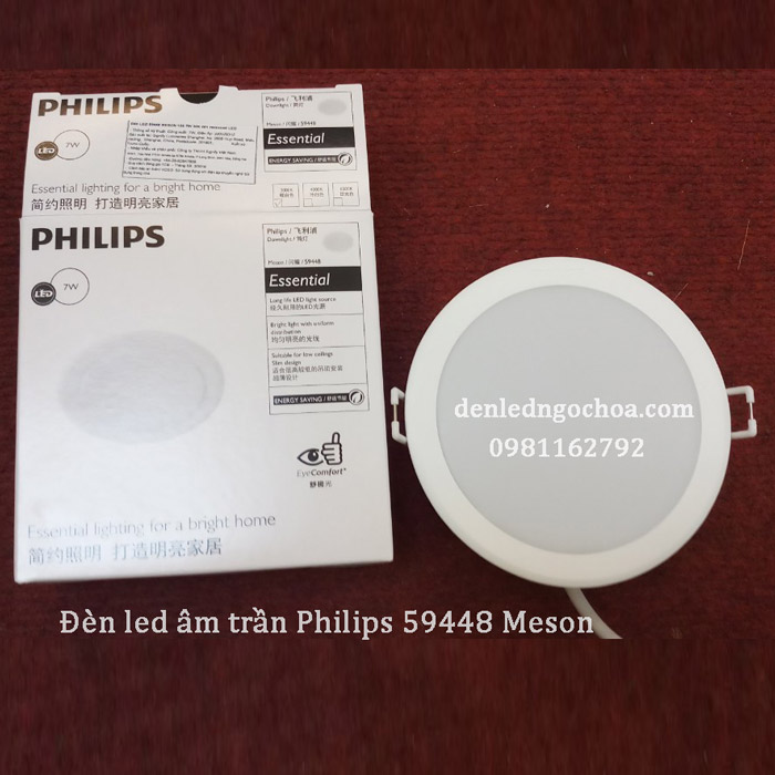Den Led Am Tran Philips Meson 7w 59448