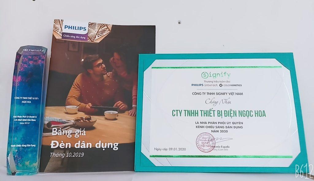 Giai Thuong Nha Phan Phoi Philips So 1 Nam 2019