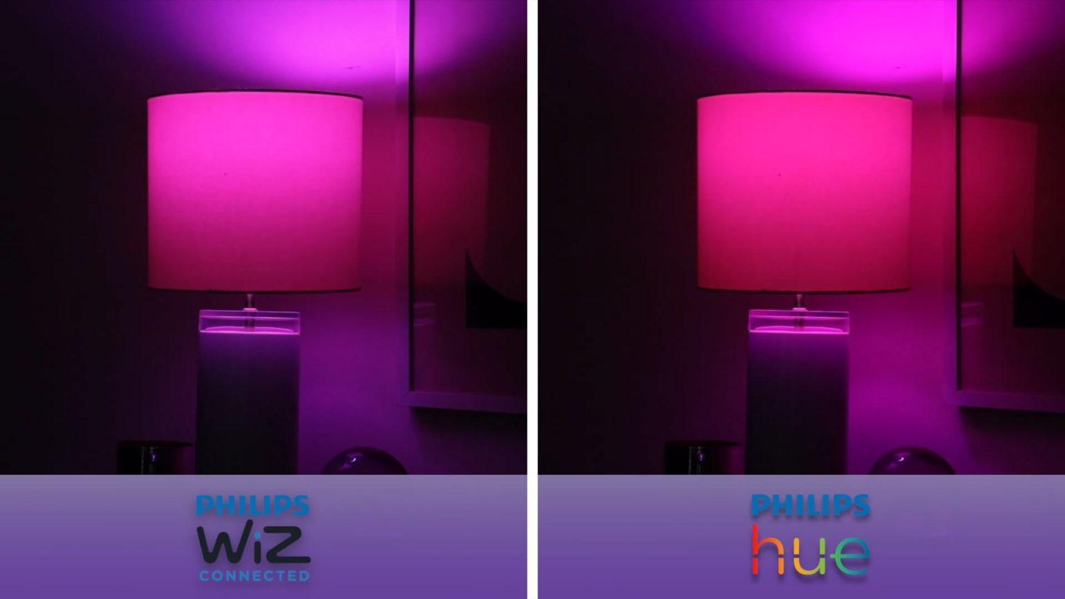 Review Wiz Vs Philips Hue 8